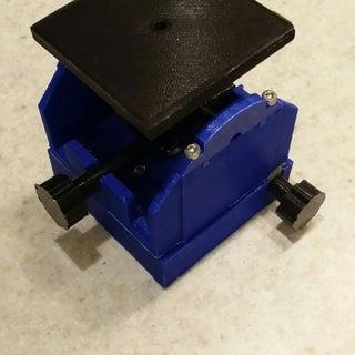 3D Printed Pan & Tilt Goniometer