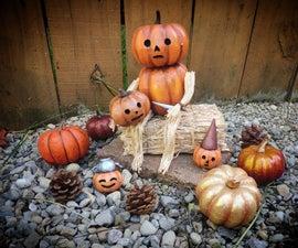 Pumpkin Man Home Decor