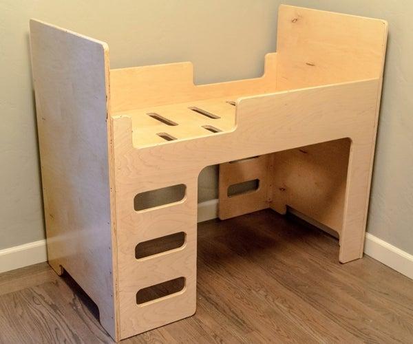 Simple, Elegant Toddler Bed