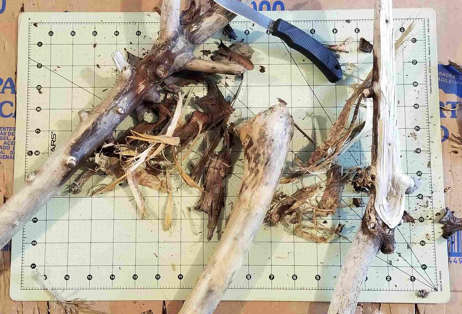 De-bark and Exfoliate