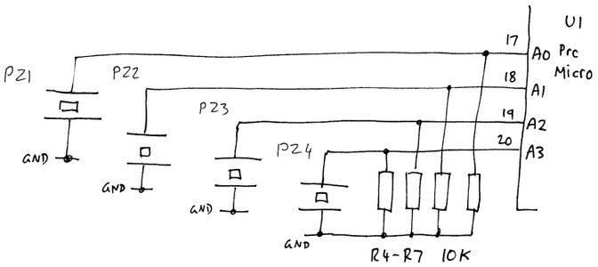 Pad Inputs Circuit