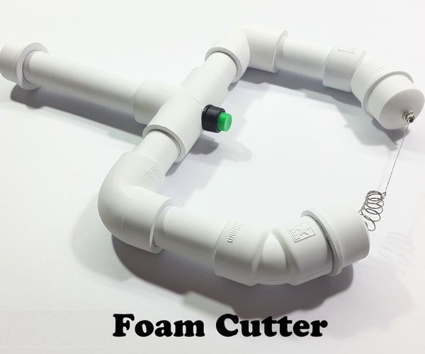 Hot Wire Foam Cutter   Portable   Rechargable