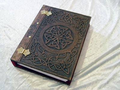 Book of Shadows Celtic Knotwork Book