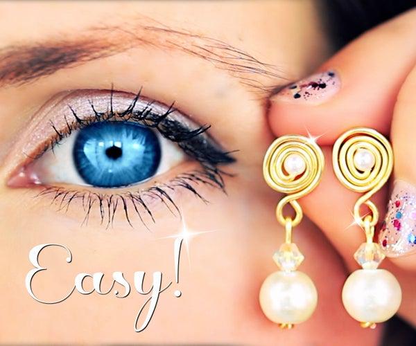3 Super Easy Earrings! | Earrings DIY