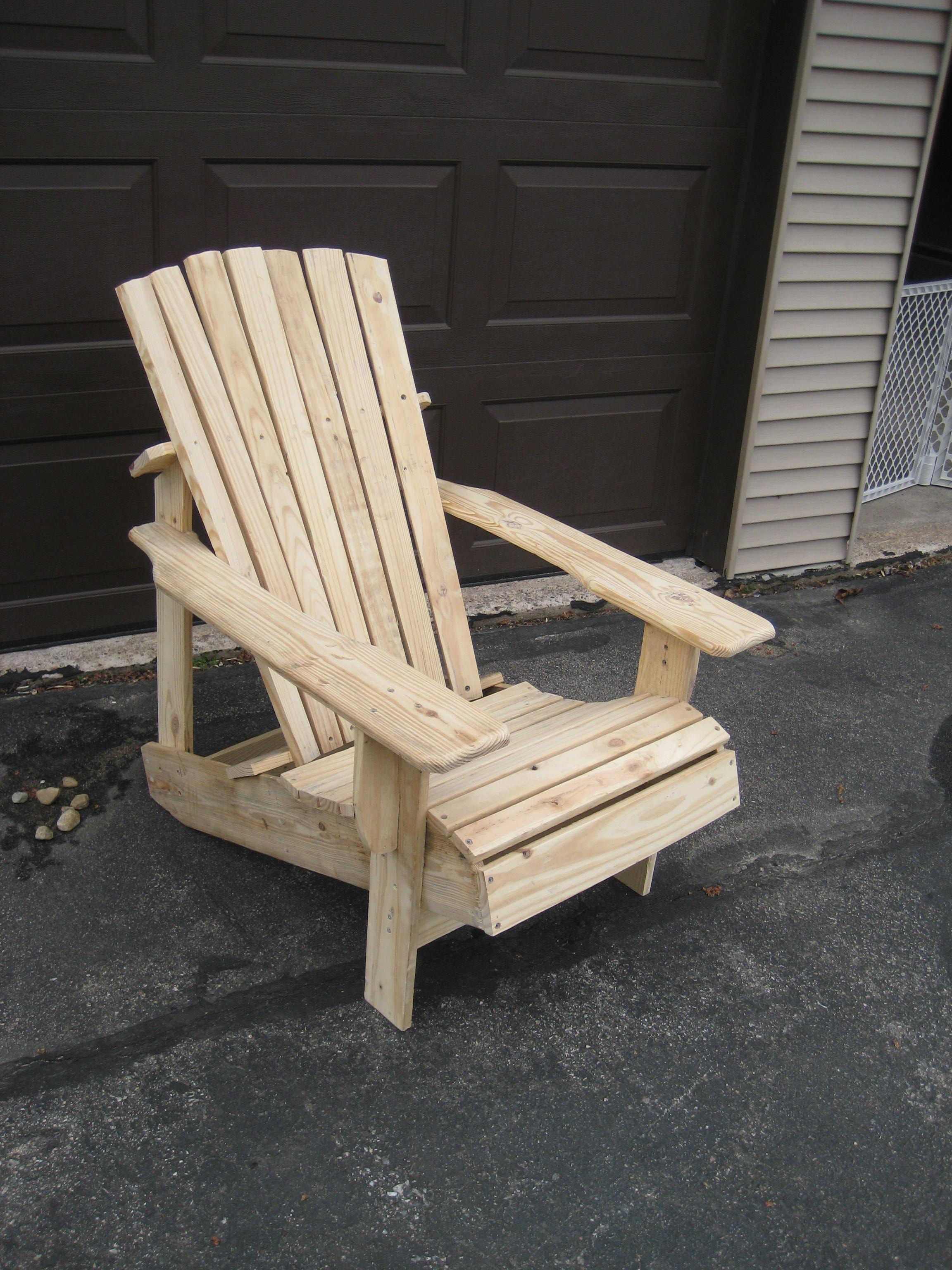 Pallet Adirondack Chair 46 Steps With Pictures Instructables