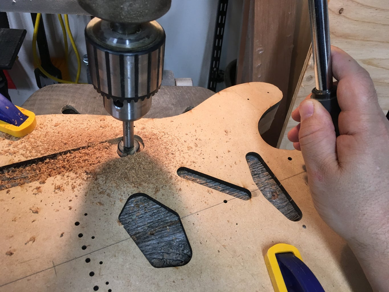 Routing Body Cavities and Pockets
