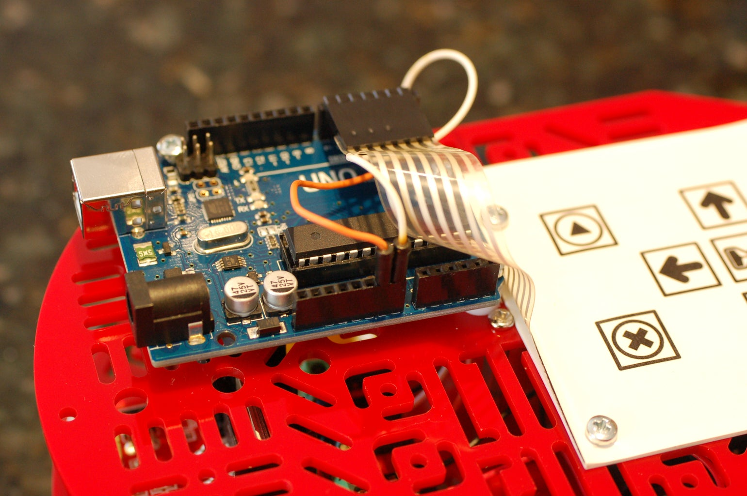 Attach the Motor Driver Wires to the Ardunio