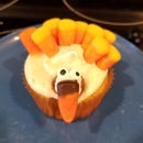 "Pumpkin Spice ""Turkey"" Cupcakes"