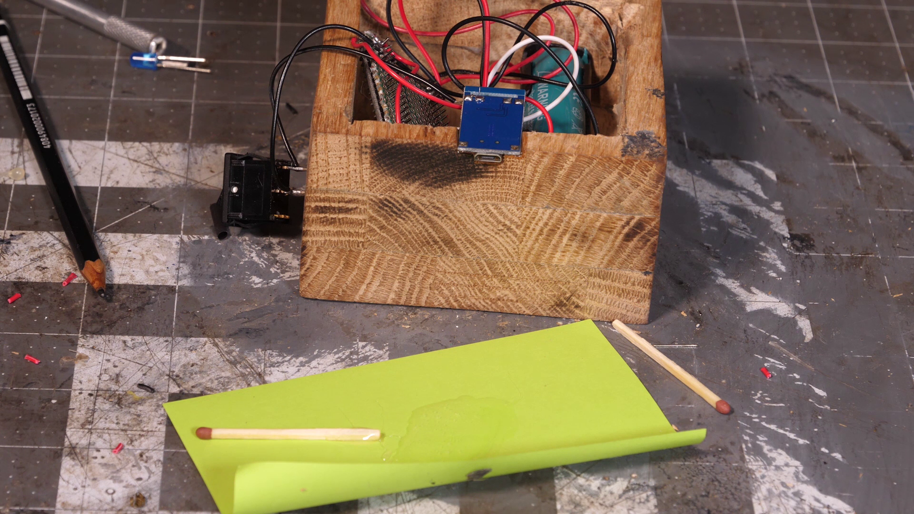 Charger Module and Sound Detector