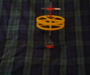 K'nex Top With Cord