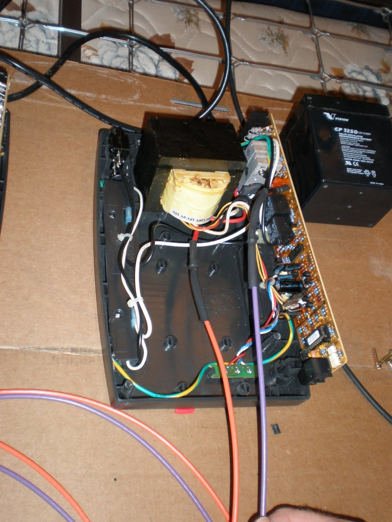 Extend Wires on UPS