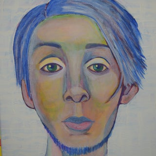 How to Paint an Acrylic Portrait