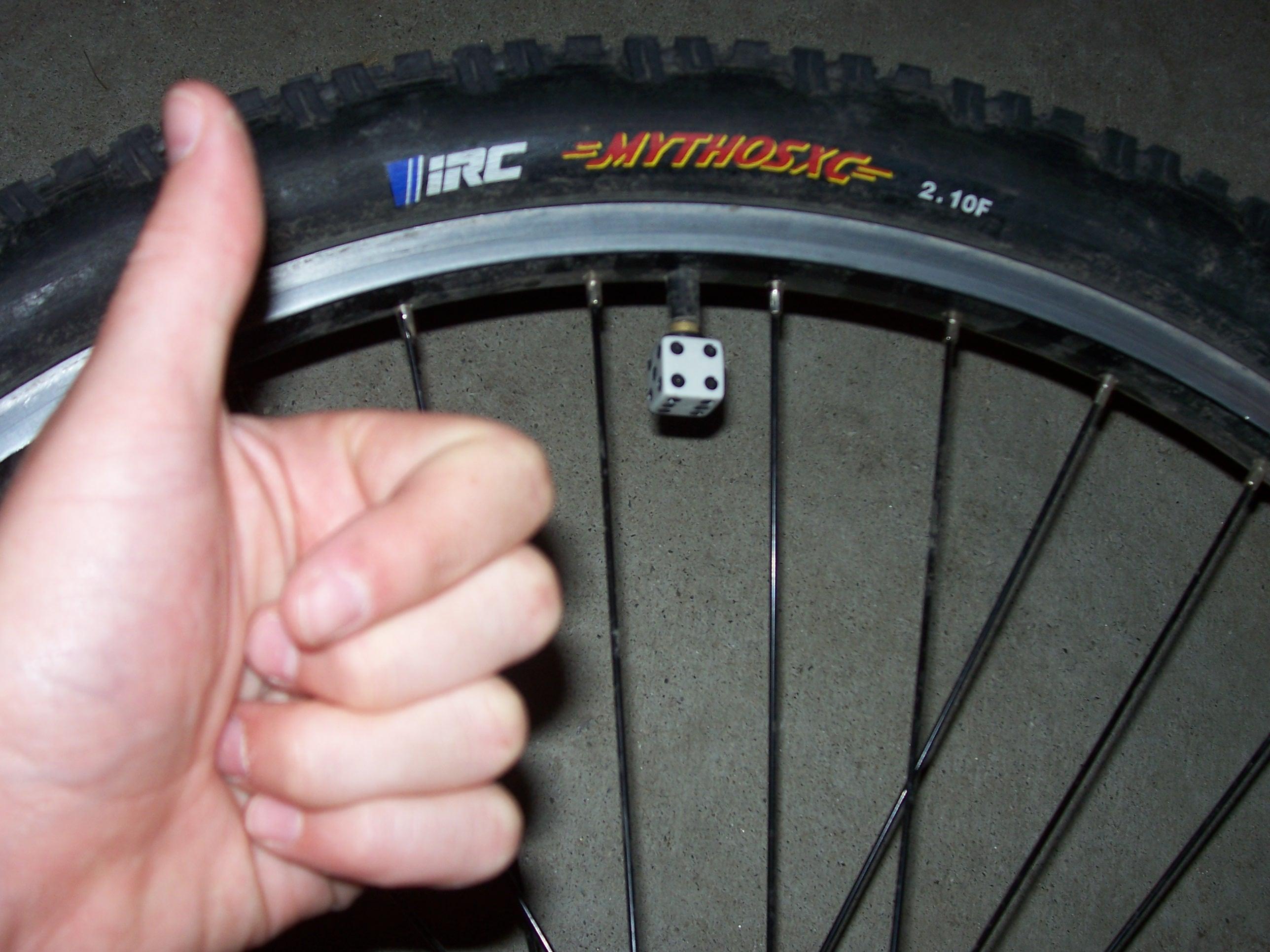 Dice Tire Caps