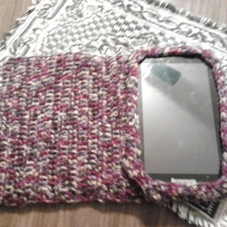 """Crocheted Case for a 7"""" Tablet"""