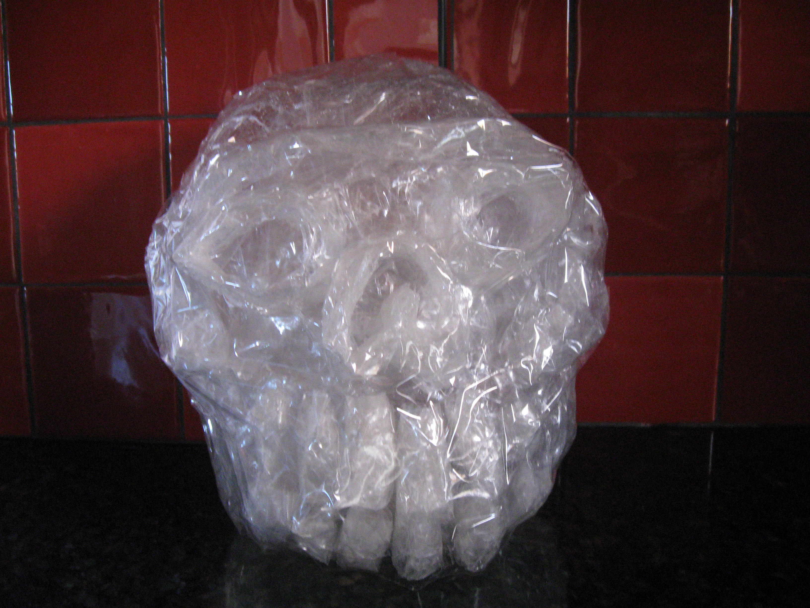 Make a Crystal Skull in under an hour for under a dollar