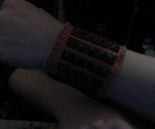 Twist Tie Weaved Bracelet