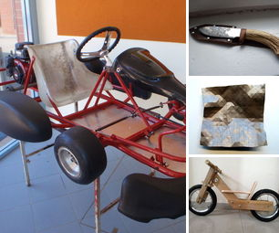 [newsletter] Design a Go-Kart, Handmade Knife and Sheath, Foldable Wood