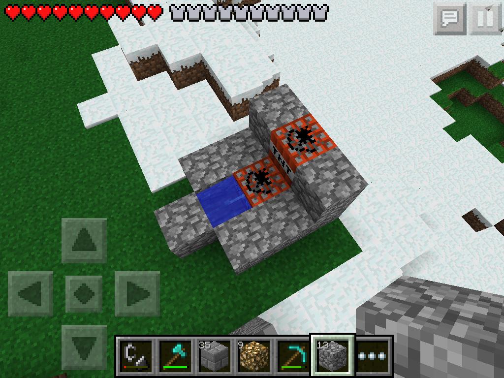 Minecraft Pe TNT Cannon
