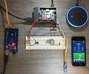 Self Made Smart Home With Amazon Alexa