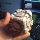 Clay Companion Cube