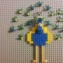 Lego Peacock Art