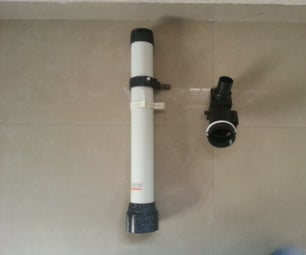 NEW TELESCOPE FROM OLD PARTS