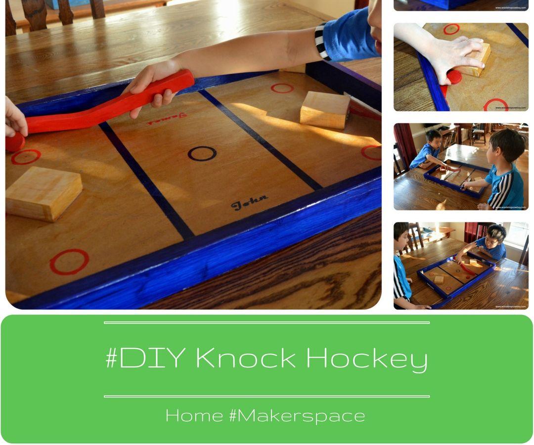 DIY Knock Hockey Game