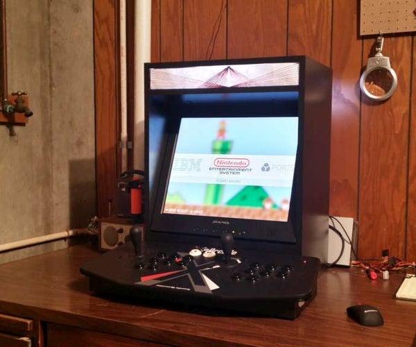 Raspberry Pi Powered Bar-top Arcade Machine