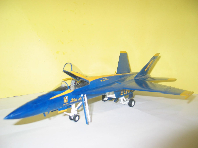 Blue Angels Model Conversion