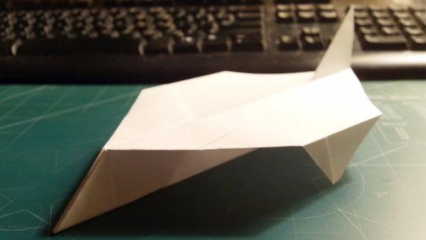 How to Make the Super Starstriker Paper Airplane