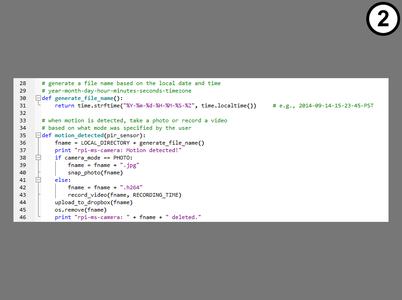 How the Python Programs Work