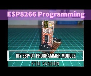 DIY ESP-01 WIFI模块编程适配器