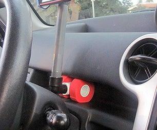 Make a $2 Adjustable Smartphone Car Mount in 10 Minutes