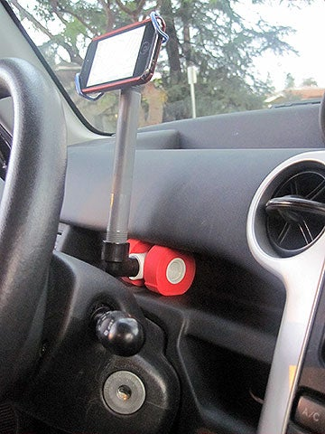 Make a $2 Adjustable Smartphone Car Mount in 10 Minutes