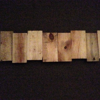 Custom Wood Wall Piece