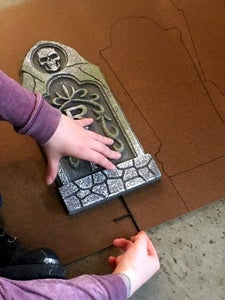 Reinforcing Your Gravestones - Tracing
