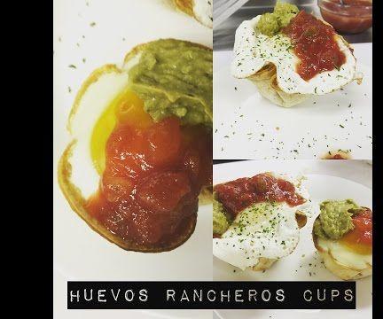 Simple Huevos Rancheros Brunch Cups