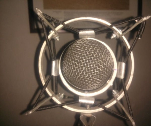 How to Make a Great Spider Shock Mount for Any Microphone