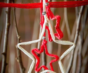 Christmas Stars From String