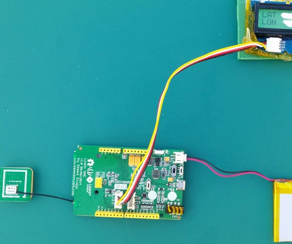 LinkIt One Tutorials - #6 GPS Device