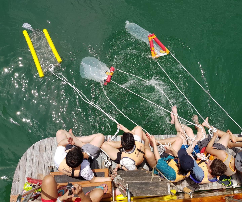 Plankton & Microplastic Drag Net
