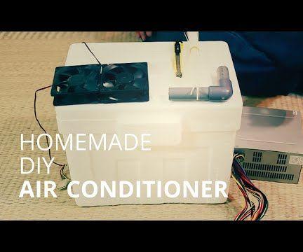 Homade DIY Air-conditioner