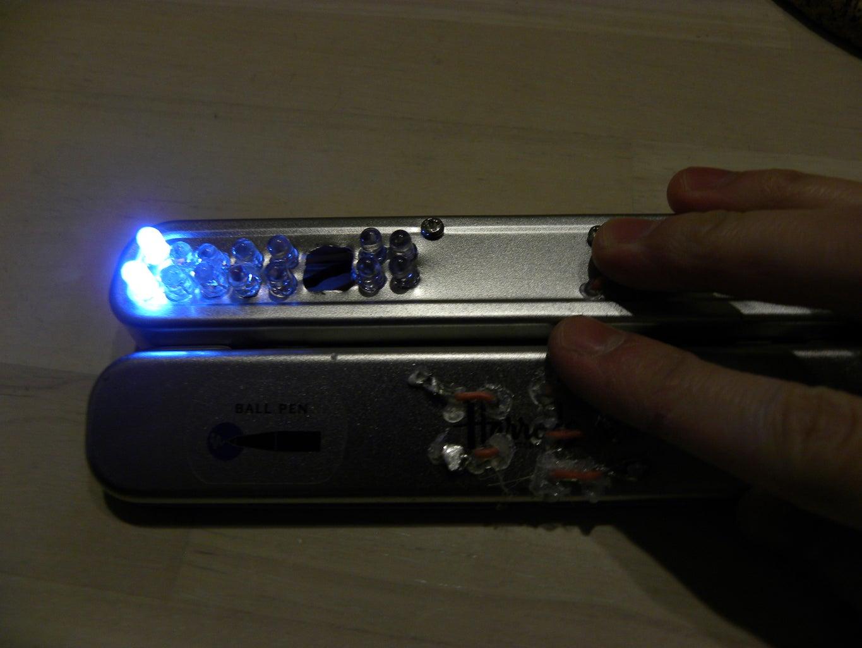Multi-Color Light Painter (Touch Sensitive)