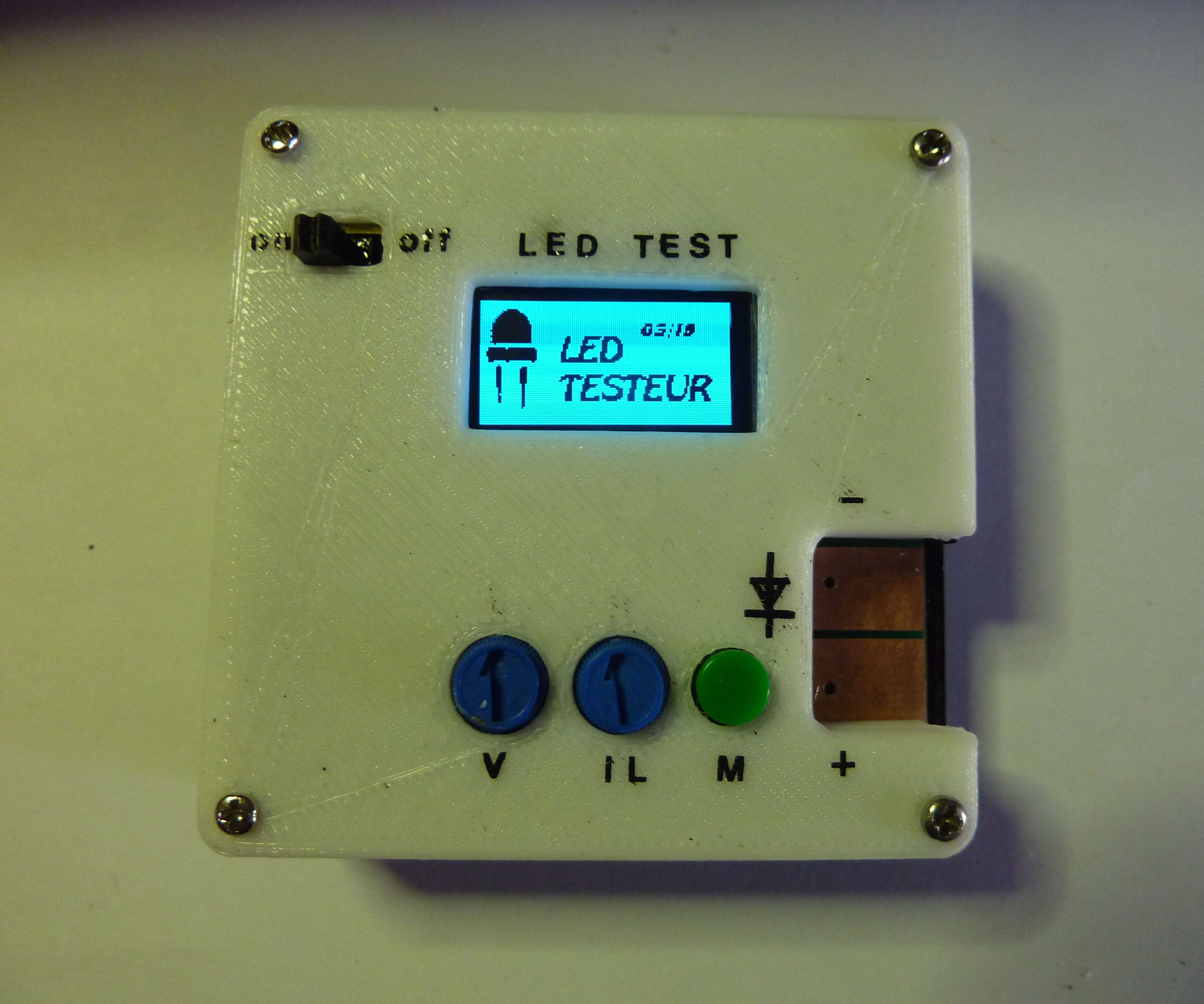 ARDUINO LED TESTER