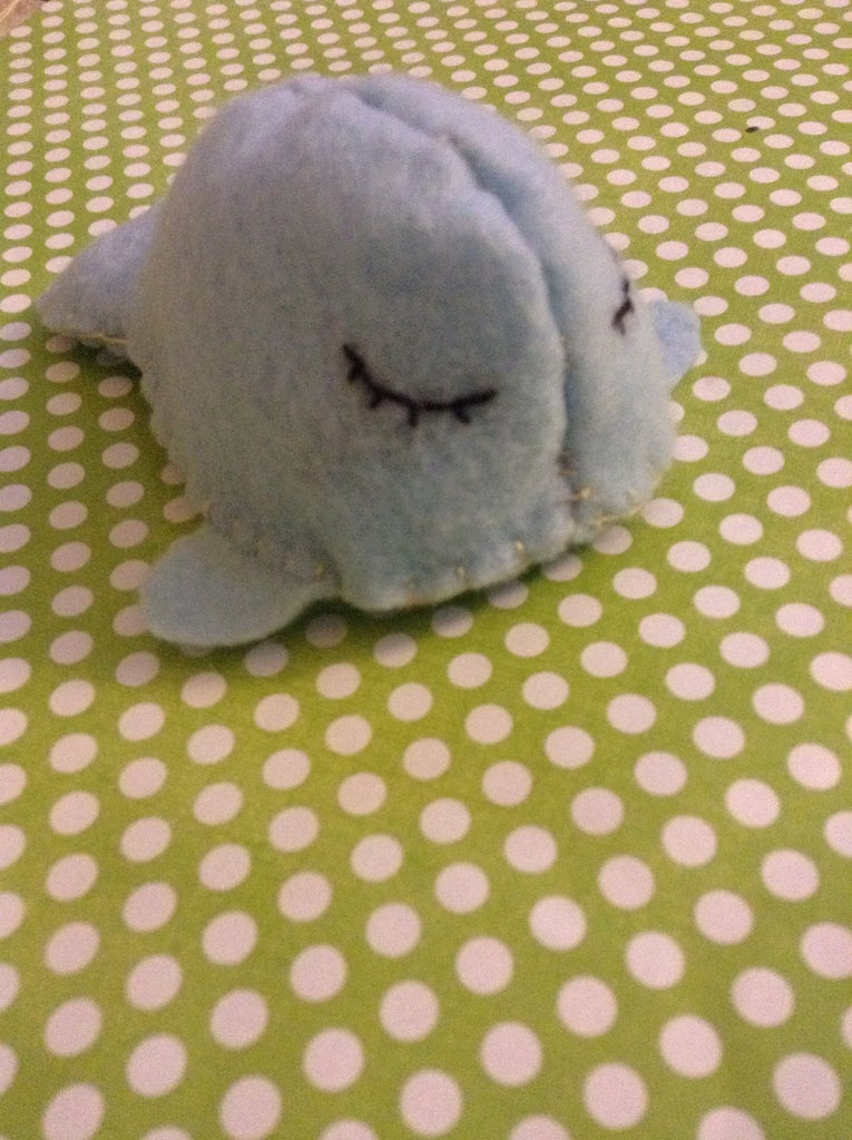 Kawaii Whale Plushie