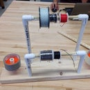 How to make a spool holder