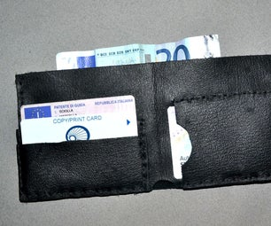 ★DIY LEATHER WALLET★