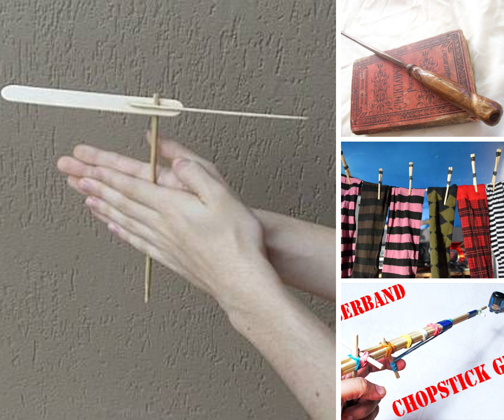 20 Unusual Uses for Chopsticks