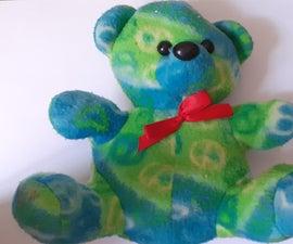 Teddy Toy Secret Money Bank