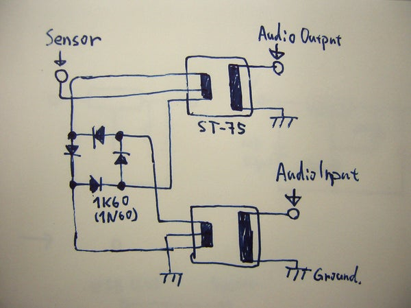 How to Connect a Sensor With Audio Input and Output